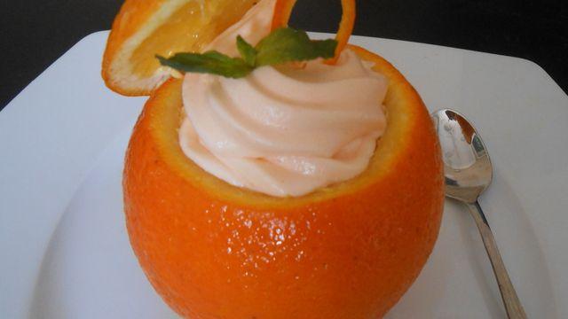 طريقة عمل موس البرتقال