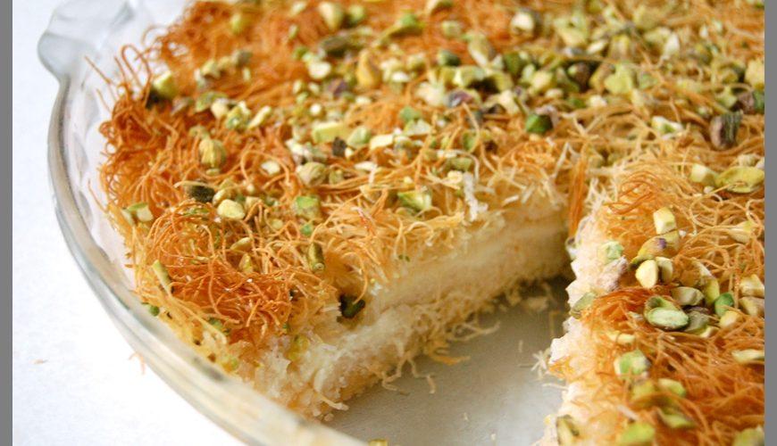 طريقة عمل كنافة سعودية بالجبن