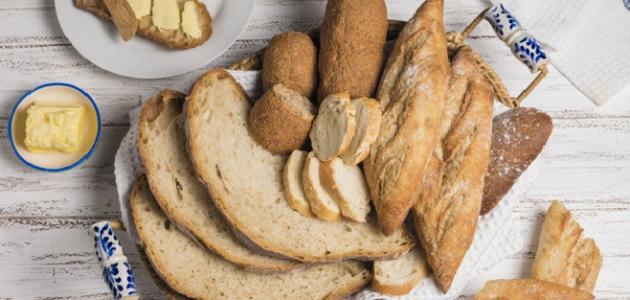 طريقة تخزين الخبز