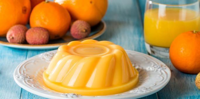 طريقة عمل مهلبية البرتقال بالجزر