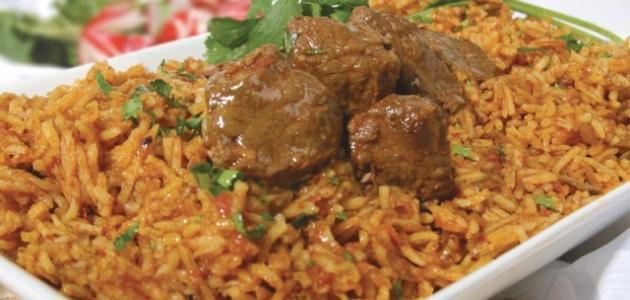 طريقة عمل أرز باللحم والخضار في قدر واحدة