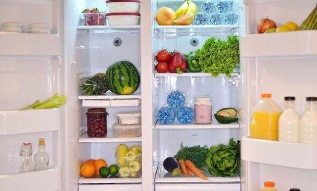 درجة الحرارة الآمنة في الثلاجة والفريزر