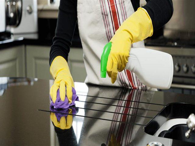 كيفية تعقيم المطبخ من البكتيريا