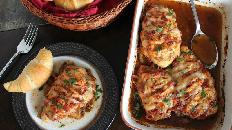 طريقة عمل الدجاج المحشو الايطالي