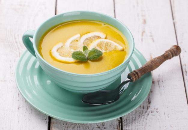 طريقة عمل شوربة الليمون والفاصوليا الخضراء