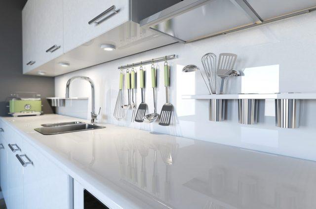 طريقة تنظيف رخام المطبخ الابيض