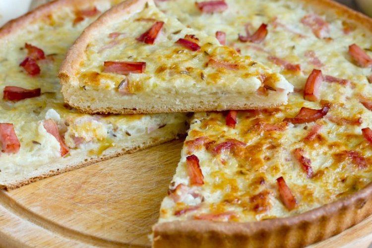 طريقة عمل تارت البيتزا