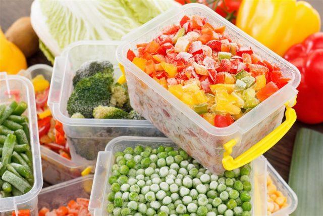 الخضروات المجمدة الافضل من الطازجة