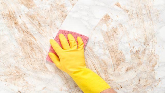كيفية تنظيف الجدران بسهولة