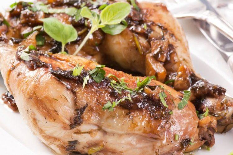 طريقة عمل دجاج مشوي بالأوريغانو