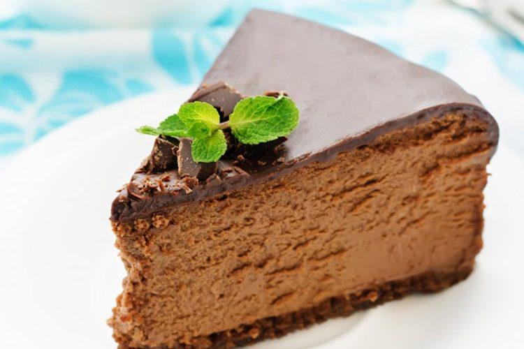 طريقة عمل حلى الشوكولاتة البارد