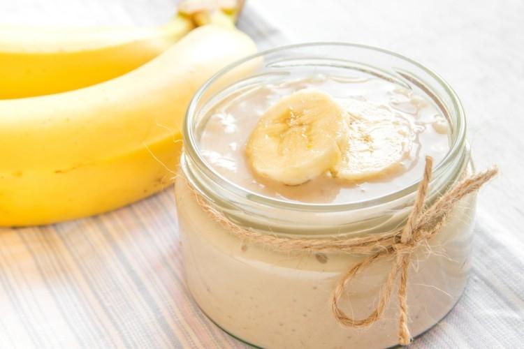 طريقة عمل مهلبية الموز