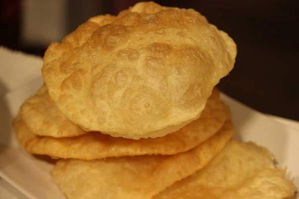 طرريقة عمل خبز هندي مقلي