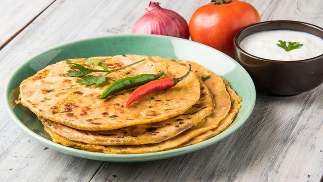 طريقة عمل خبز براتا هندي