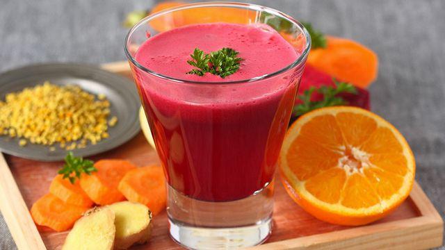 طريقة عمل عصير الشمندر بالبرتقال