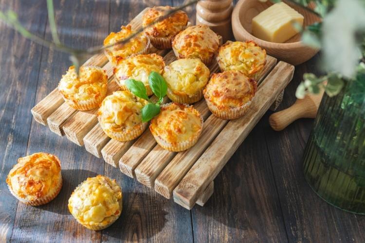 طريقة عمل مافن البطاطس بالجبن