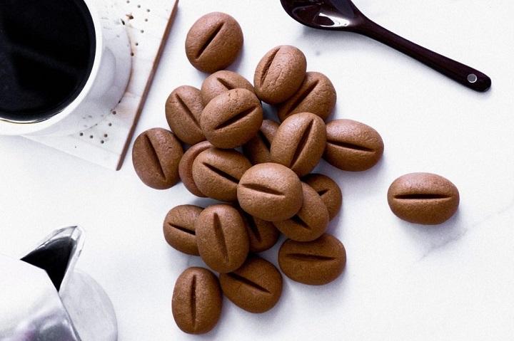 طريقة عمل بسكويت حبات القهوه