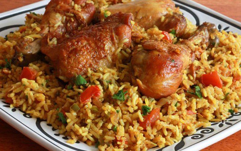 طريقة عمل الأرز الإيراني بالدجاج