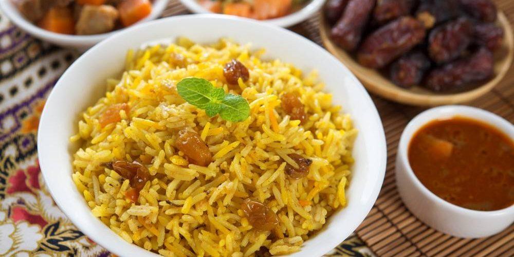 طريقة عمل أرز بسمتي بالخضار والكاري