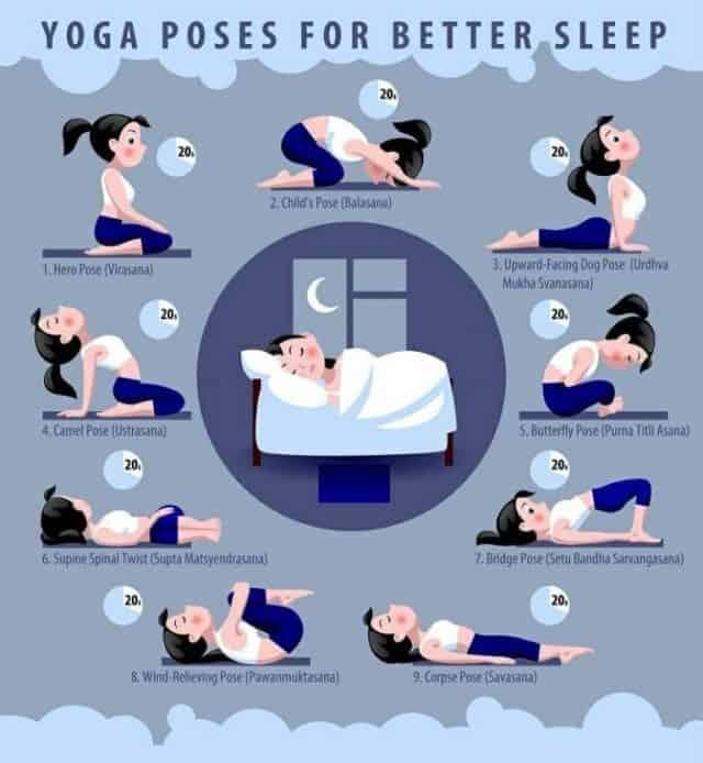 تمارين الاسترخاء قبل النوم